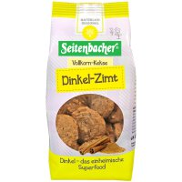 Seitenbacher Vollkorn Kekse Dinkel Zimt
