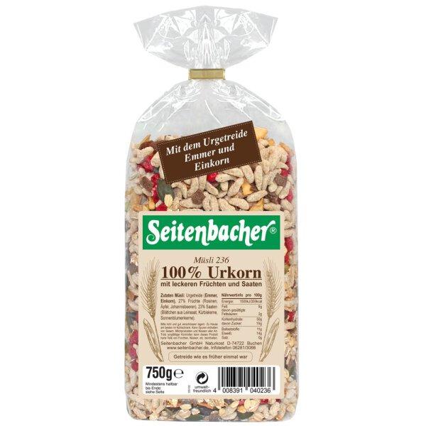 Seitenbacher Müsli Urkorn 750g