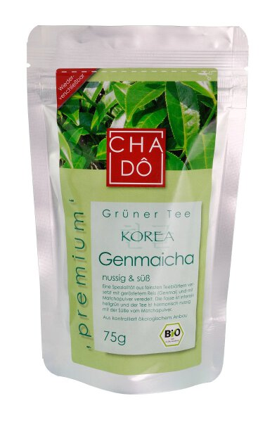 Grüner Tee aus Korea