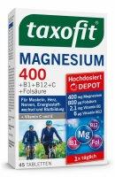 Taxofit Magnesium 400 mitVitamin B1,12 ,C+Folsäure
