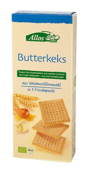 Allos Butterkekse mit Honig