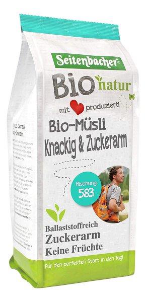 Seitenbacher Bio Müsli Knackig und Zuckerarm