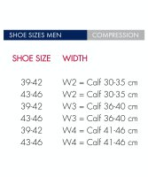 Falke Kompresionsstulpen Herren W3 36-40cm