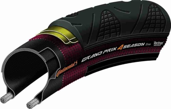Continental Grand Prix 4-Season 700 X 25C