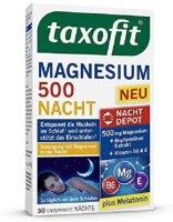 Taxofit Magnesium 500 Nacht