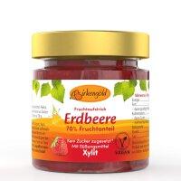 Birkengold Erdbeere Fruchtaufstrich mit Xylit...