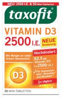 Taxofit Vitamin D3 2500 I.E. Depot Tabletten