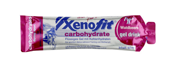 Xenofit Carbohydrate Gel Drink Waldbeere