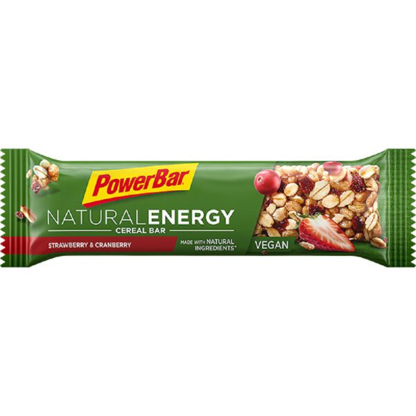 PowerBar Natural Cereal Riegel Strawberry -Cranberry
