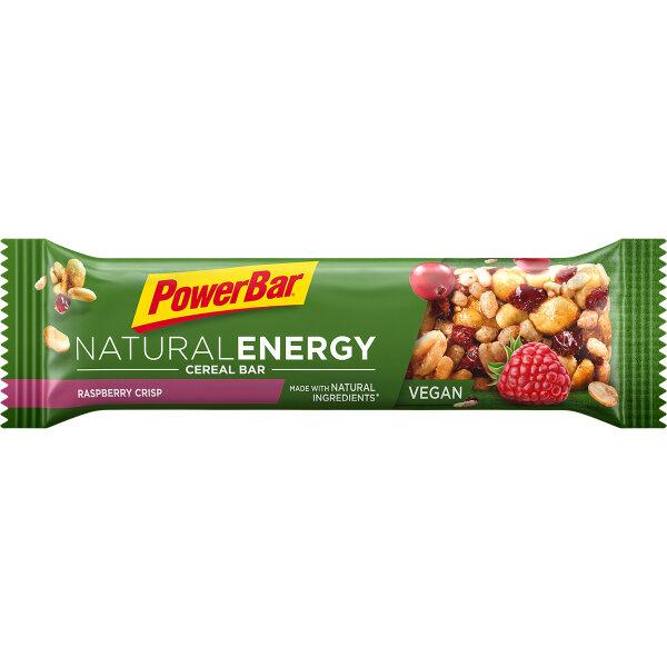 PowerBar Natural Cereal Riegel Rasberry Crisp