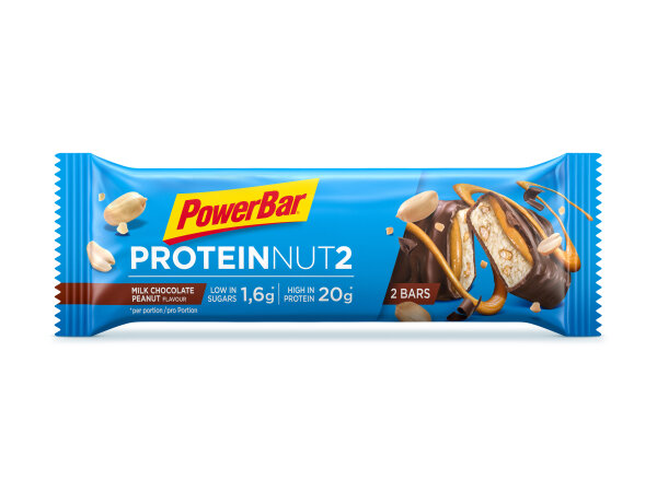 PowerBar Protein Nut 2 Milk Chocolate Peanut 45 gr