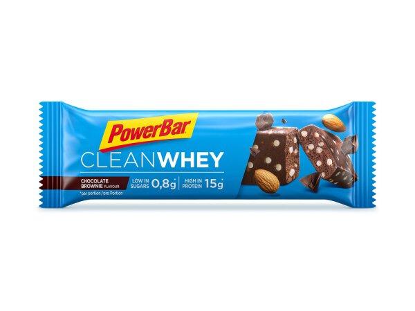 PowerBar Clean Whey Riegel   Chocolate Brownie