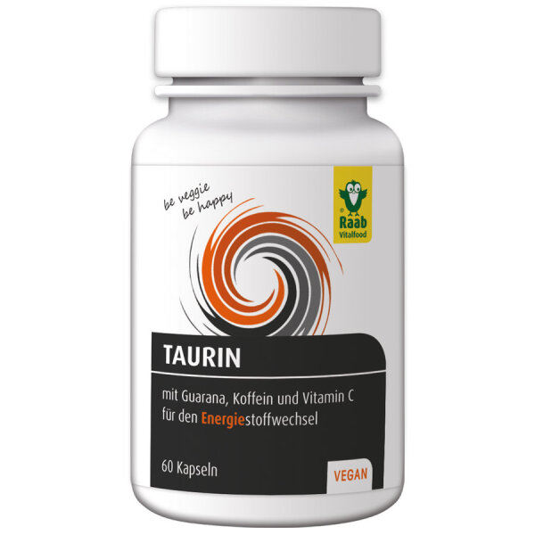 Raab Vitalfood Taurin mit Guarana und Koffein