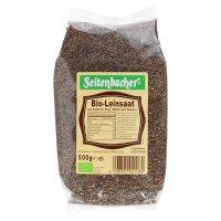 Seitenbacher Bio -Leinsaat