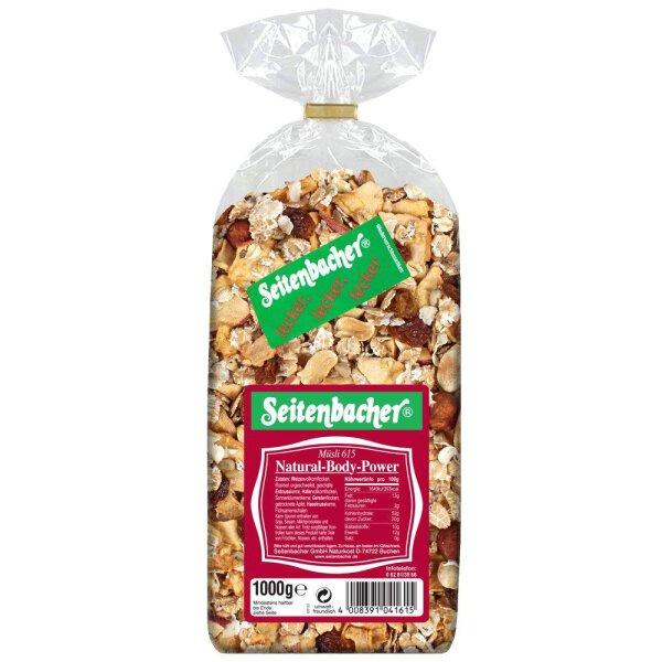 Seitenbacher Müsli 615 Natural-Body-Power 1000g
